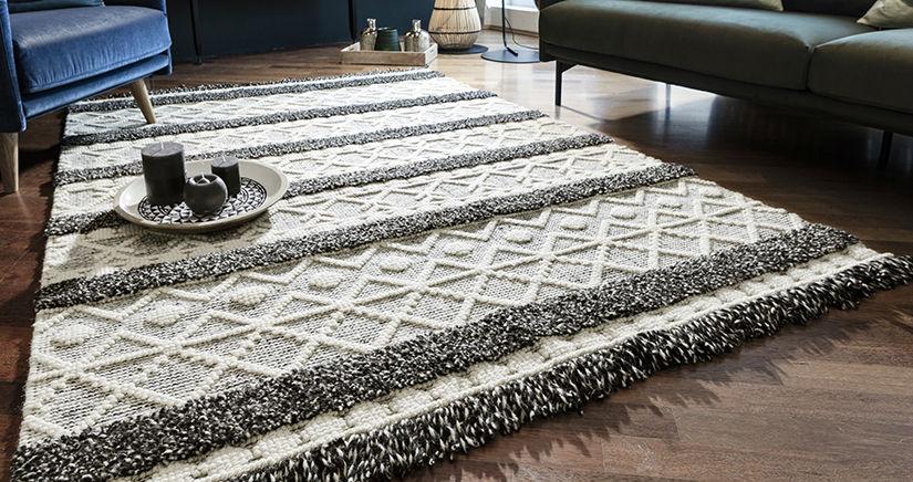Вълнен килим 160х230 см