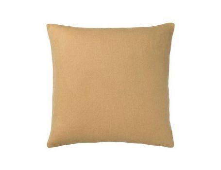 Декоративна възглавница - жълто охра
