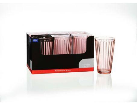Чаша за вода или сок, розова