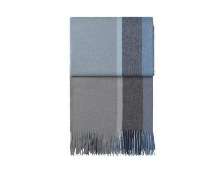 Луксозно одеяло от вълна алпака - синьо