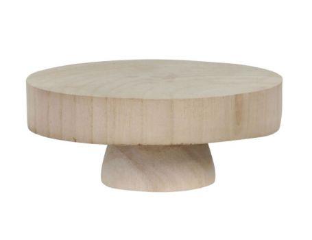 Дървена поставка, диаметър 20 см