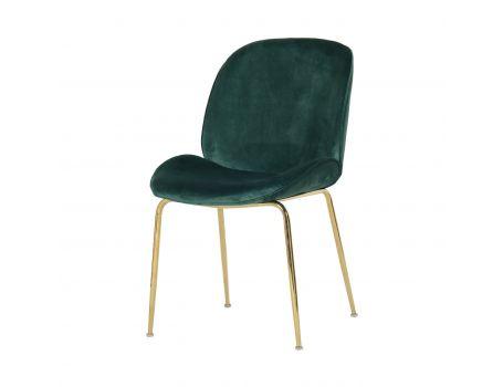 Модерен стол в зелено