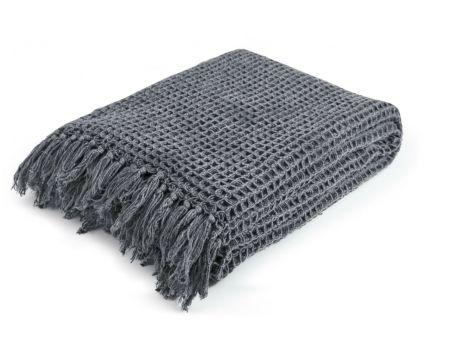 Стилно одеяло - цвят антрацит