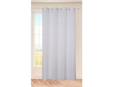 Стилна завеса в бяло
