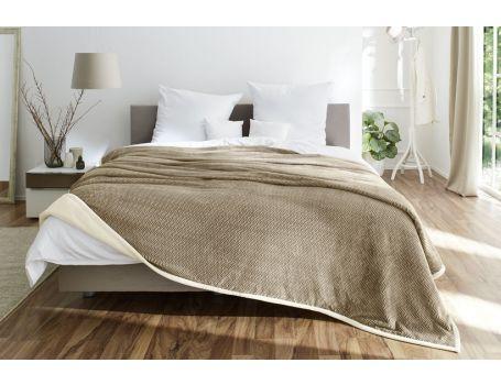 Покривало за спалня - дизайн рибена кост