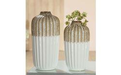 Керамична ваза - височина 23,5 см