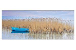 Стъклена картина Лодка