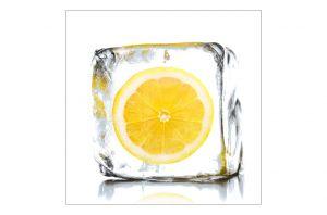 Стъклена картина Лимон