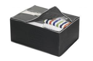 Кутия за съхранение на дрехи с цип.