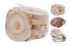 Декоративни дървени кръгчета