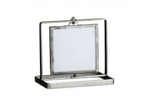 Рамка за снимка в сребристо