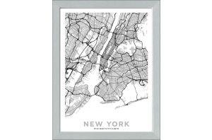 Картина NEWYORK CITYMAP I