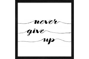 Картина NEVER GIVE UP