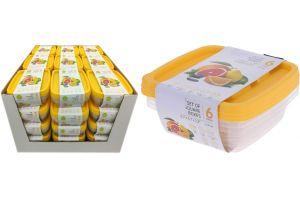 Кутия за съхранение, сет от 3 бр.