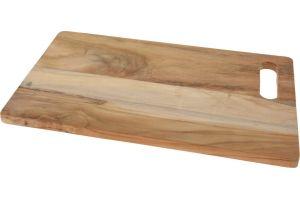 Дъска за рязане - тиково дърво