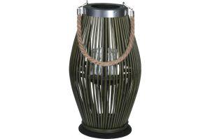 Фенер за свещ - бамбук