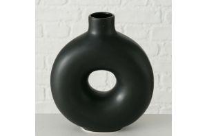 Стилна ваза в черно