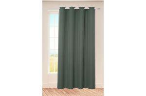 Стилна завеса в зелено
