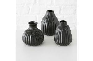 Стилна ваза в черно - 3 вида