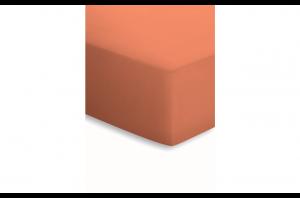 Чаршаф с ластик 140х200 см-Оранжев