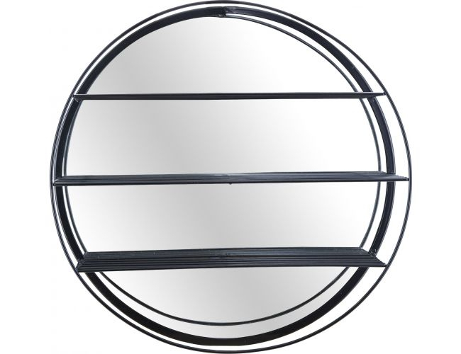 огледало с етажерки